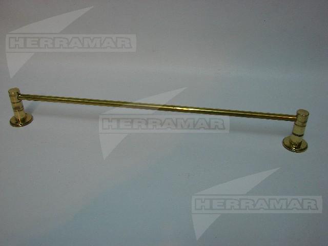 Toallero recto 45 cm americano bronce pul da328 for Toallero bronce